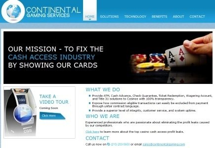 Continental Gaming Launches New Online Casino