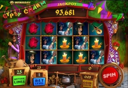 Take a Spin on the New Gypsy Charm Slot at WinADay Casino