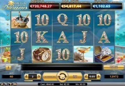 Kroon Casino Player Wins EUR 2.7 Million Mega Fortune Dreams Jackpot