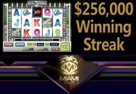 Miami Club Casino Awards Big $256,000 Win