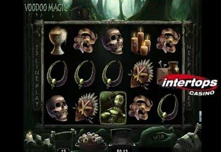 Voodoo Magic and Bullseye Bonuses at Intertops Casino