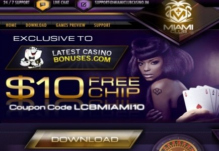 Newbie Wins $125K at Miami Casino Club