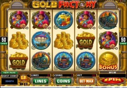 $70K Won on Gold Factory Slot at Golden Riviera Casino