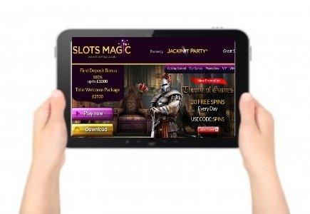 SlotsMagic Launches Mobile Casino!