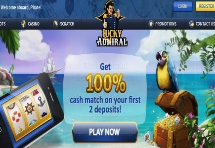 Cozy Games Launched Lucky Admiral Casino