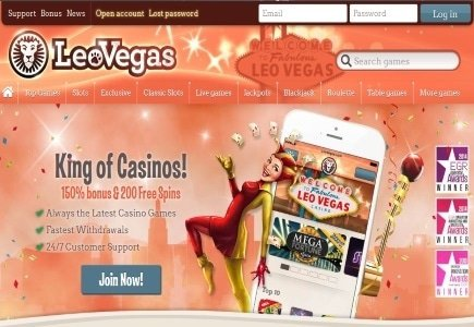 LeoVegas Celebrates 1 Year in the UK Market