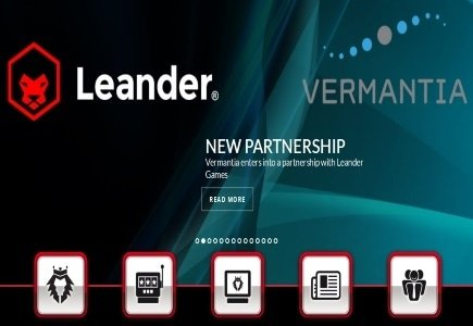 Vermantia in Content Deal with Leander Games