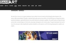 Coingaming.io Integrates GameART Content