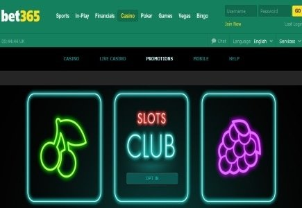 Collect Points and be Rewarded: bet365's Slot Club