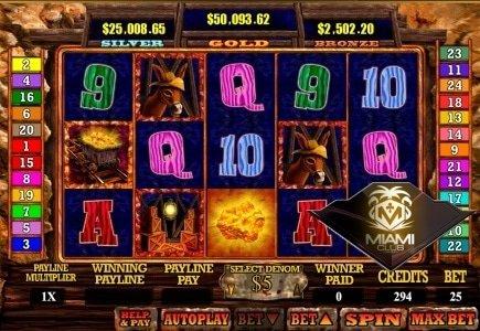 Miami Club Casino Progressive Jackpots Tip the Scale with New Slot