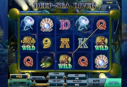 Genesis Gaming Launches Deep Sea Diver at Euro Casino