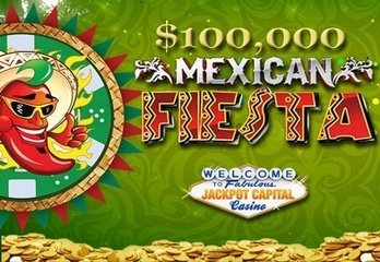 Jackpot Capital Casino Throwing a $100,000 Mexican Fiesta Promotion