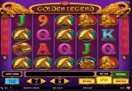 Play'n Go Launches Golden Legend Slot