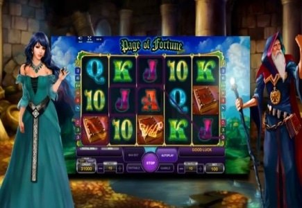 Zeus Services Previews Page of Fortune Slot