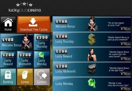 Expect a Downpour of Bonuses this May at Lucky Club Casino