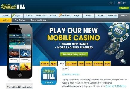Two New Slots Join William Hill Mobile Casino