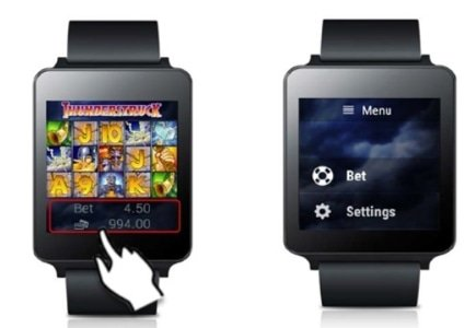 Thunderstruck Slot Now Accessible through Android Wear Smartwatch