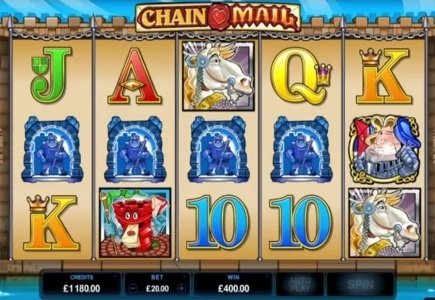Microgaming Updates Chain Mail Slot with HD Quality