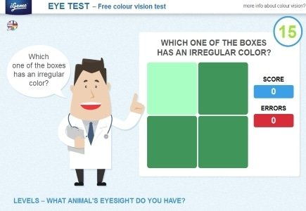 iGame.com Eye Test Attracts Over 20 Million Players