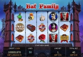 Fuga's Bat Family Slot Now Available on Mobile