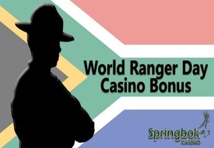 Springbok Casino Hosts World Ranger Day Casino Bonus