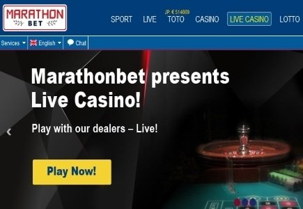 MarathonBet Partners with Evolution Gaming