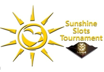 $1500 Available to Players During Sunshine Slots Tournament at Miami Club Casino