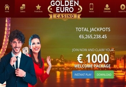 New Look and Awesome Bonus at Golden Euro Casino