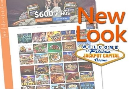 New Look Means Cash Back for Jackpot Capital Casino Members