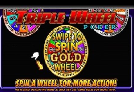 New Triple Wheel Video Poker