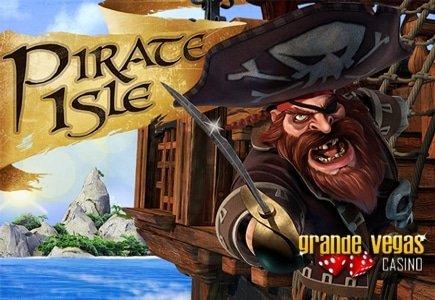 New Pirate Isle Slot Brings $125 Bonus at Grande Vegas Casino