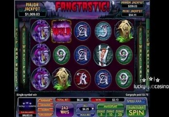 Vampire Themed Slot from NuWorks: Fangtastic