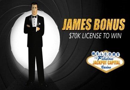 Latest Spectre Film Sparks James Bonus at Jackpot Capital Casino