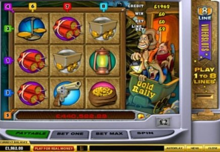 Gold Rally and The Adventures in Wonderland Jackpot Wins