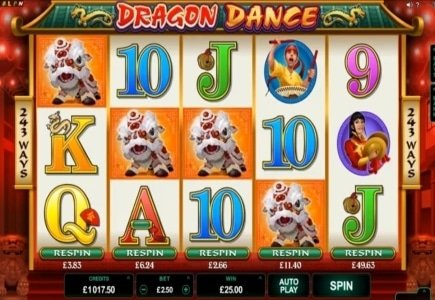 February 2016 Microgaming Slot Releases: Dragon Dance & Bikini Party
