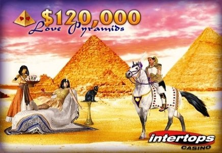 Intertops Shows Players Some Love with the $120,000 Love Pyramid
