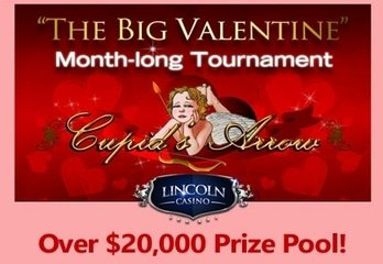 Lincoln Casino's Big Valentine Slot Tourney in Full Swing