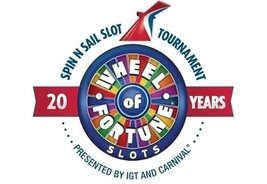 Carnival Cruise Line and IGT Celebrate 20 Years of the Wheel of Fortune® Slot Machine