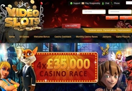 More Chances to Win with VideoSlots' Casino Races and Battle of Slots