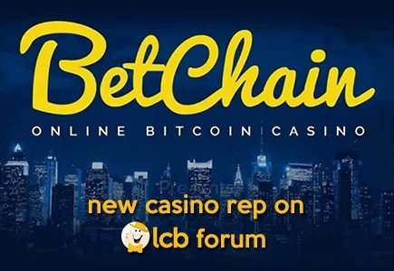 New Forum Rep for BetChain Casino