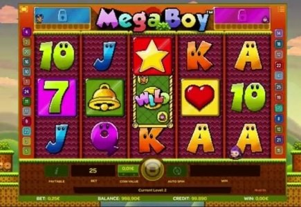 iSoftBet Combines Video Gaming with Online Slots in Mega Boy