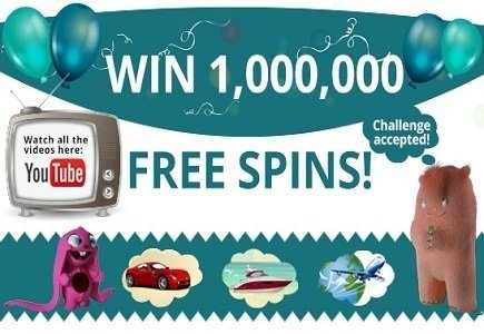 Win 1 Million Free Spins with DrueckGlueck