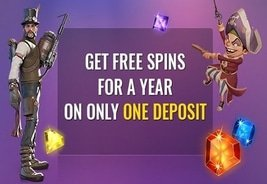 SlotsMagic.com Giving Away 1 Year of Free Spins
