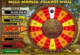 Golden Riviera Casino Mega Moolah Jackpot Soars