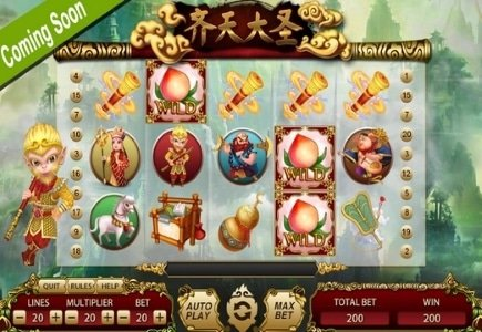 XIN Gaming Launches Monkey King Slot