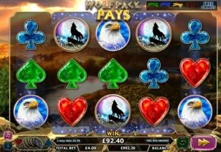 NextGen Launches Wolfpack Pays Video Slot