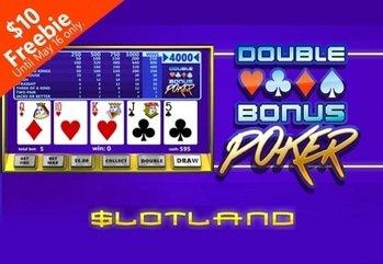22894 lcb 88k 4a double bonus poker slotland
