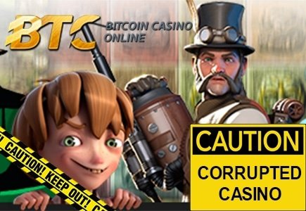 LCB Sniffs Out Bogus Games at BTC Casino
