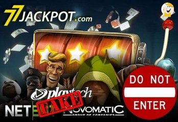 77Jackpot Presents Pirated NetEnt and Novomatic Games