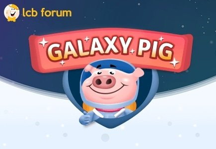 The GalaxyPig Casino rep has joined LCB forum
